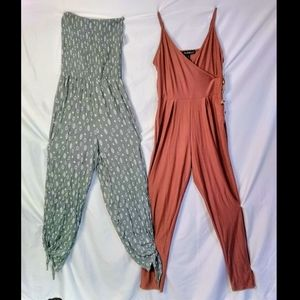 NWT 💥 2 JUMPSUITS 💥 JUMPERS 💥 ROMPERS